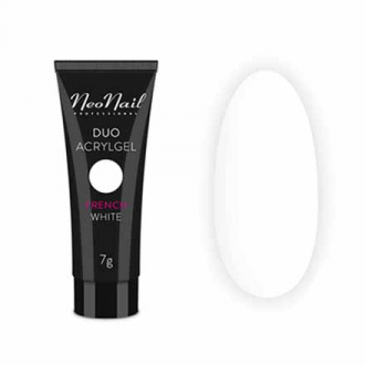 NeoNail, Акрил-гель Duo, French White, 7 г