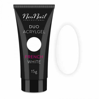 NeoNail, Акрил-гель Duo, French White, 15 г