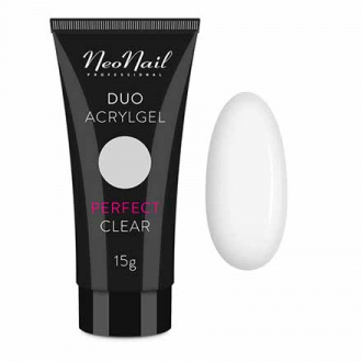 NeoNail, Акрил-гель Duo, Perfect Clear, 15 г