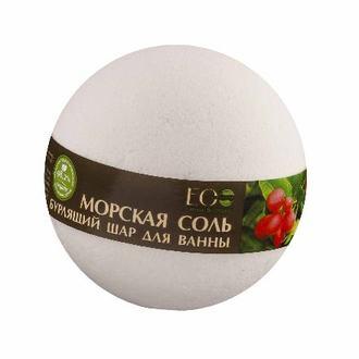 EcoLab, Бурлящий шар для ванны «Ягоды асаи и годжи», 220 г