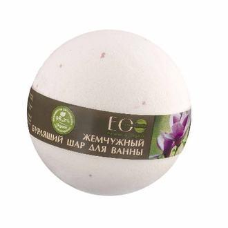 EcoLab, Бурлящий шар для ванны «Магнолия и иланг-иланг», 220 г