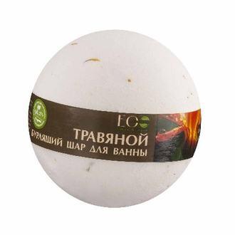 EcoLab, Бурлящий шар для ванны «Примула и зеленый чай», 220 г