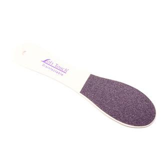 SoftTouch, Пилка для педикюра Gobbler File, розово-фиолетовая,80/100