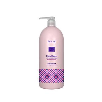 OLLIN, Кондиционер для наращенных волос Silk Touch, 1000 мл