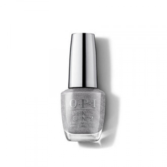 OPI, Лак для ногтей Infinite Shine, Silver On Ice