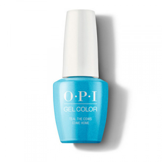 OPI, Гель-лак Iconic, Teal the Cows Come Home