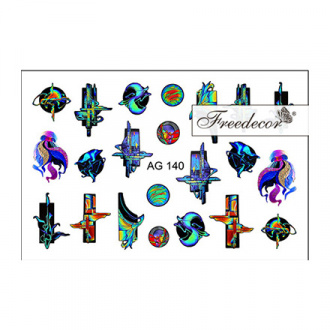 Freedecor, Слайдер-дизайн «Аэрография» №140
