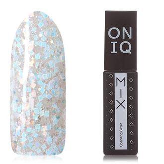 Гель-лак ONIQ Mix №94s, Sparkling Silver