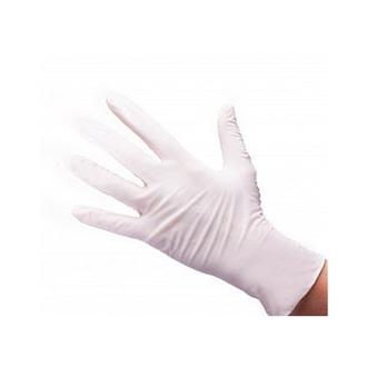 White line, Перчатки нитриловые белые, размер M, 100 шт.