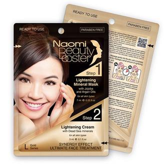 Naomi, Комплексный уход для лица Gold Series