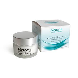 Naomi, Ночной питательный крем для нормальной и жирной кожи, 50 мл
