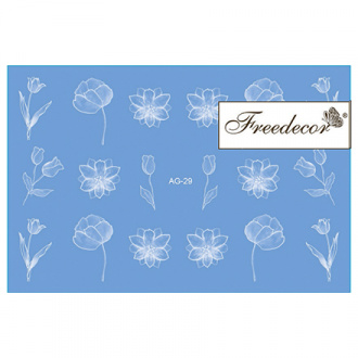 Freedecor, Слайдер-дизайн «Аэрография» №29w
