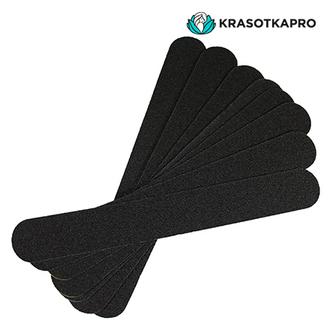 KrasotkaPro, Сменные картриджи для средней пилки, черные, 180 грит, 50 шт