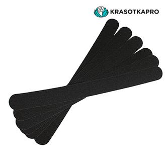 KrasotkaPro, Сменные картриджи для длинной пилки, черные, 180 грит, 50 шт