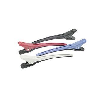 Dewal, Зажим для волос, пластиковый, цветной, 4 шт.