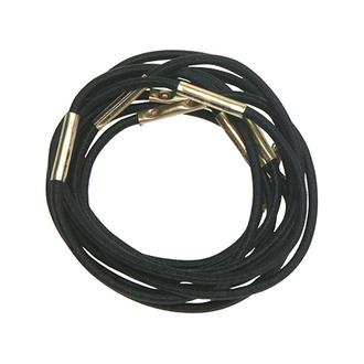 Dewal, Резинки для волос Midi, черные, 10 шт.