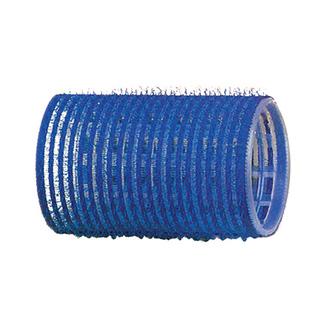 Dewal, Бигуди-липучки, синие, 40 мм