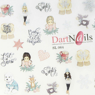 DartNails, Слайдер-дизайн Art-Fashion №64