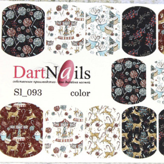 DartNails, Слайдер-дизайн Art-Fashion №93
