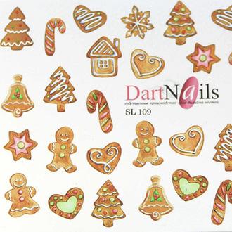 DartNails, Слайдер-дизайн Art-Fashion №109
