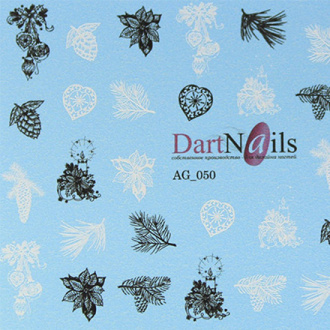 DartNails, Слайдер-дизайн Aerograpfy №50