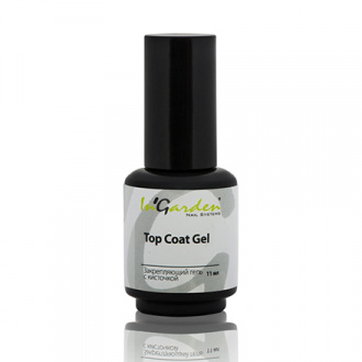 In'Garden, Gel Top Coat, Топ, 11 мл