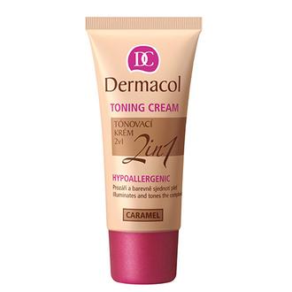 Dermacol, Гипоаллергенный тональный крем 2 в 1, caramel