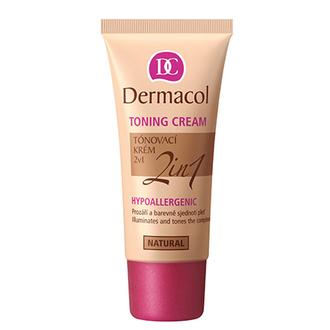 Dermacol, Гипоаллергенный тональный крем 2 в 1, natural