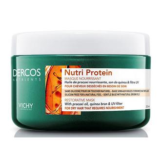 Vichy, Восстанавливающая маска для волос Nutri Protein, 250 мл