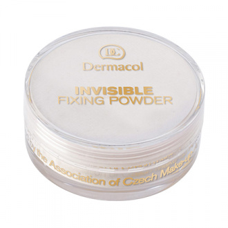 Dermacol, Рассыпчатая пудра Invisible Fixing, Natural