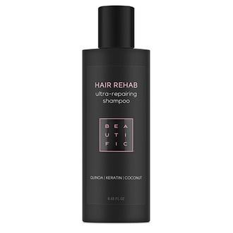 Beautific, Шампунь для волос Hair Rehab Ultra-Repairing, 250 мл