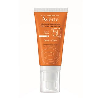 Avene, Крем для лица и шеи SPF 50+, 50 мл