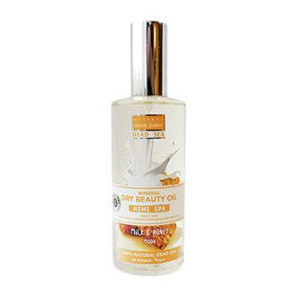 Mineral Beauty System, Масло для тела и волос «Мед и молоко», 400 мл