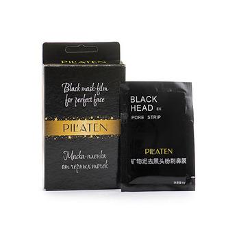 Pilaten, Минеральная маска-пленка для лица Black Head, 5х6 г