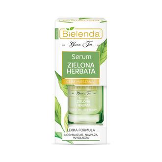 Bielenda, Сыворотка для лица Green Tea, 15 мл