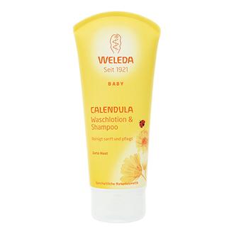 Weleda, Детский шампунь-гель для волос и тела, 200 мл
