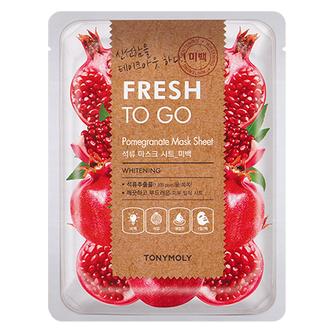 Tony Moly, Маска для лица Fresh To Go Pomegranate, 22 г