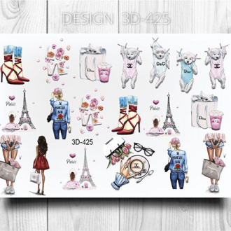 AnnaTkacheva,3D-слайдер№425 «Девушки. Париж»