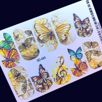 AnnaTkacheva,3D-слайдер№490 «Бабочки»