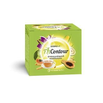 Dobrovit, Очищающий чай FitContour, 10х3 г