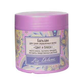 Liv Delano, Бальзам для волос «Цвет и блеск», 350 г