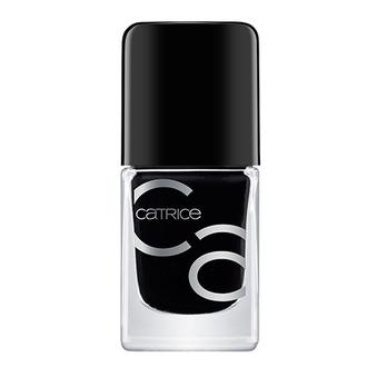 CATRICE, Лак для ногтей ICONails №20, Black To The Routes