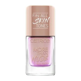 CATRICE, Лак для ногтей More Than Nude №05, Rosey-o & Sparklet