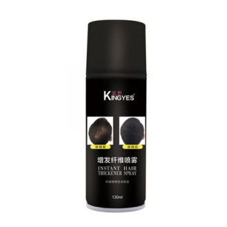 Kingyes, Загуститель для волос Dark brown, 130 мл
