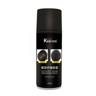 Kingyes, Загуститель для волос Black, 130 мл