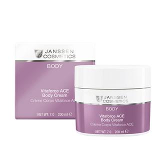 Janssen Cosmetics, Крем для тела Body Vitaforce ACE, 200 мл