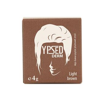 Ypsed, Пудра-камуфляж для волос Derm, Light Brown, 4 г