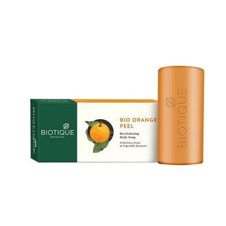 Biotique, Мыло-скраб для тела Bio Orange Peel, 150 г