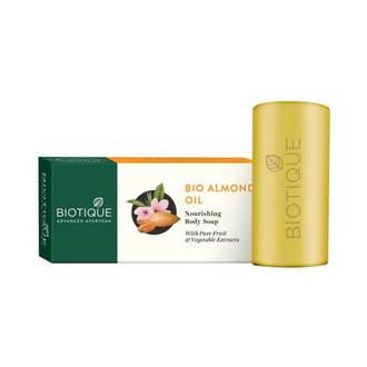 Biotique, Мыло для тела Bio Almond Oil, 150 г