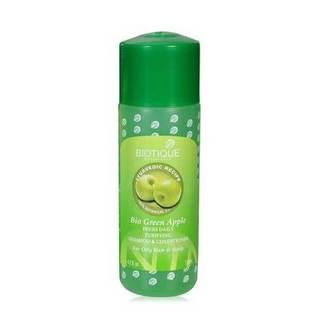 Biotique, Шампунь-кондиционер для волос Bio Green Apple, 120 мл